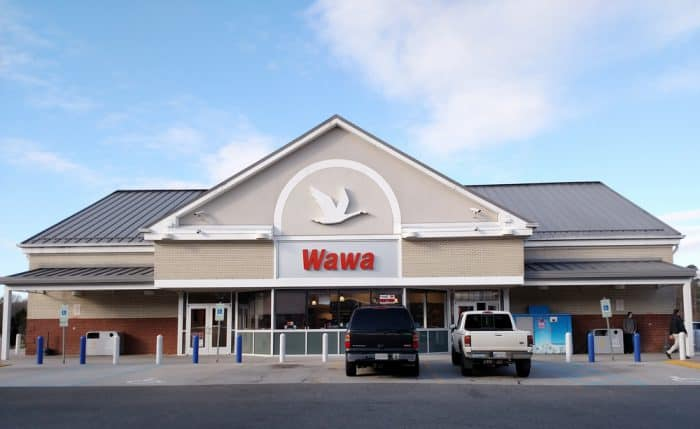Front of Wawa convenience store
