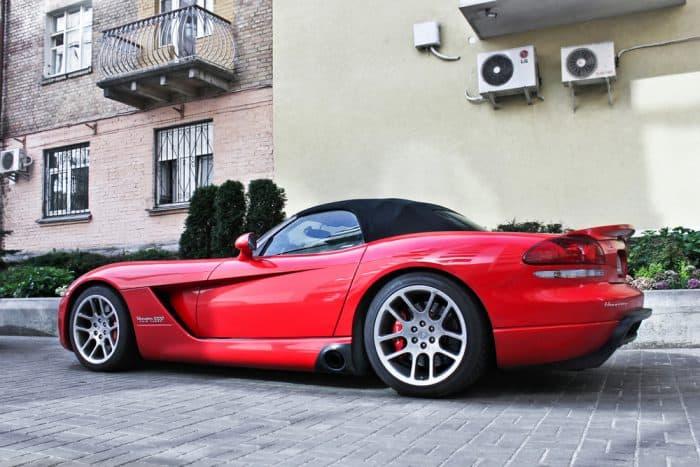 Red Hennessey Venom Auto