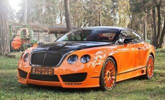 orange car upgrades