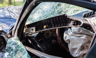 celebrity car wreck