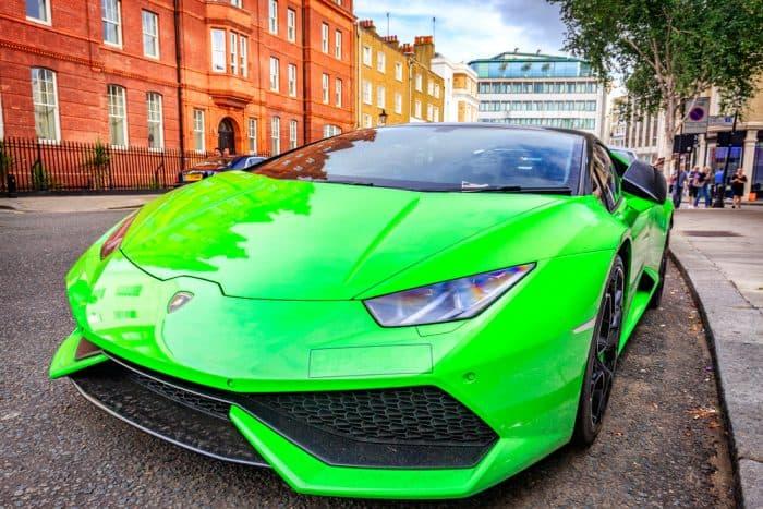 Neon Green Lamborghini Gallardo