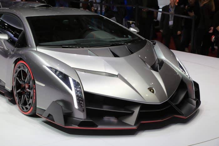 2014 Sliver Lamborghini Veneno
