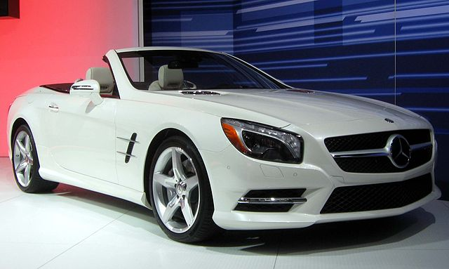 Mercedes Benz Sl550 convertible