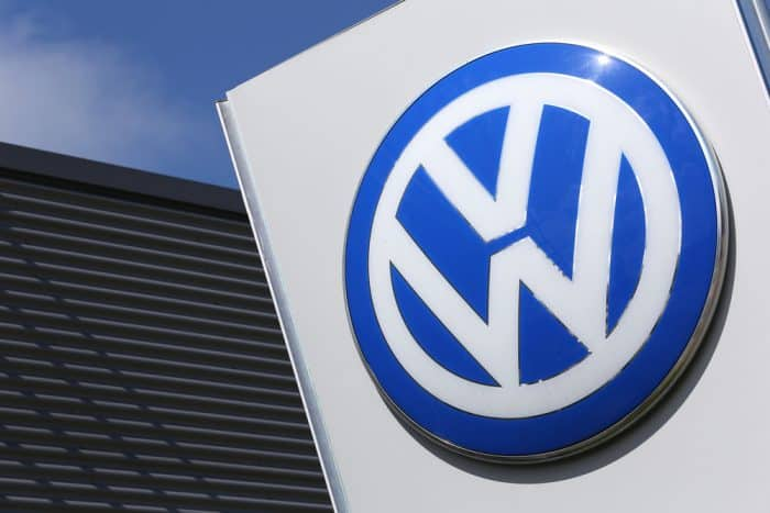 Volkswagen Dealer Sign