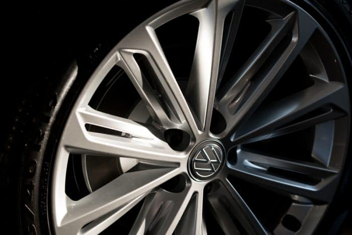 Wheel from VW Car