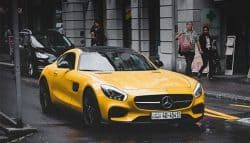 Yellow Dream Car