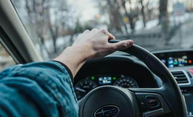 Steering wheel driving