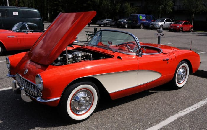57' Corvette Fathers Day Gift
