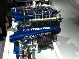 mazda 2014 clean diesel engine