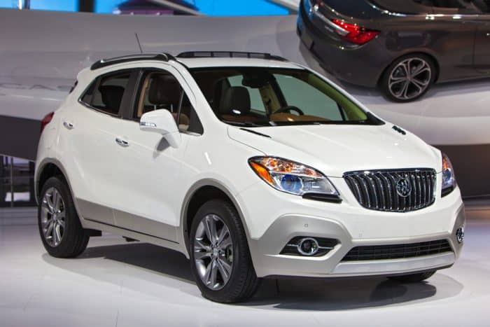 White Buick Enclave