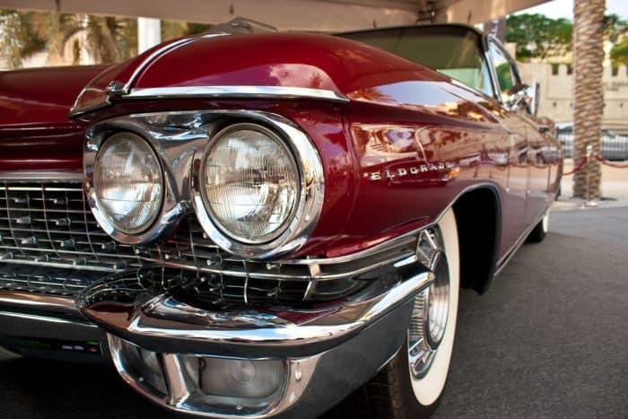 Red 1979 Cadillac Eldorado