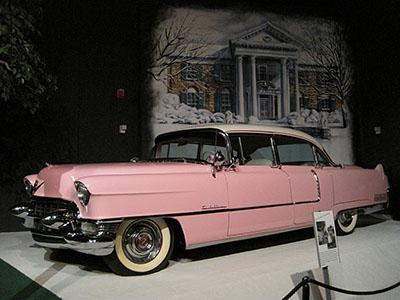 Elvis Presley's pink 1955 Fleetwood Cadillac