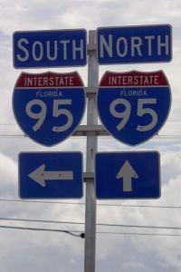 I-95 North South Sign