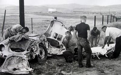 James Dean Porsche 550 Car Crash