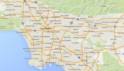 Auto Insurance California by Location