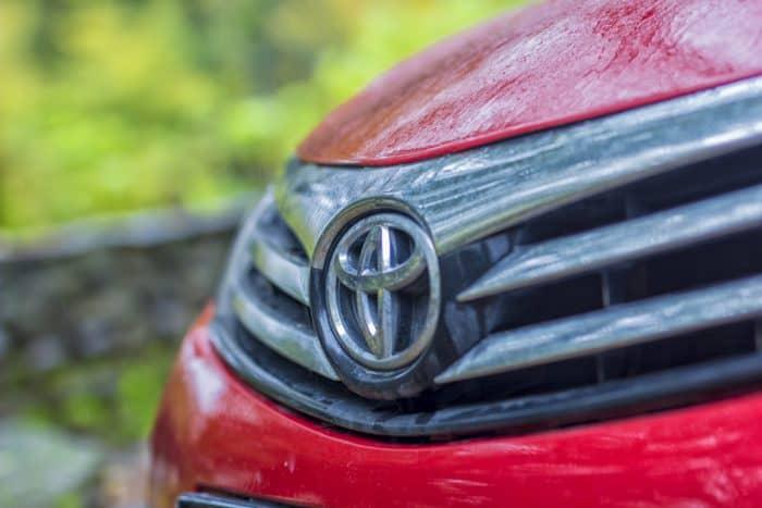 Toyota Car Emblem