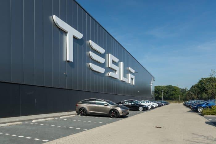 Tesla Manufacturing Plant
