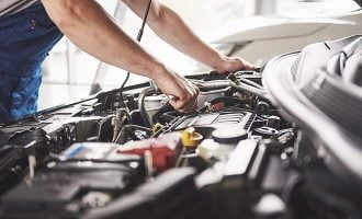 car maintenance repair shop