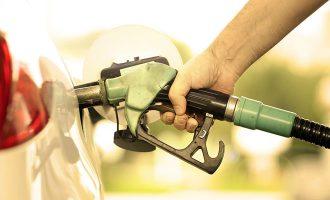 pumping up diesel car