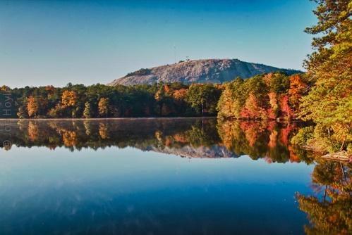 Fall Foliage Stone Mountain GA