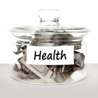 Health Money Jar