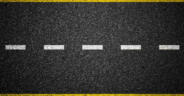 plastic road banner