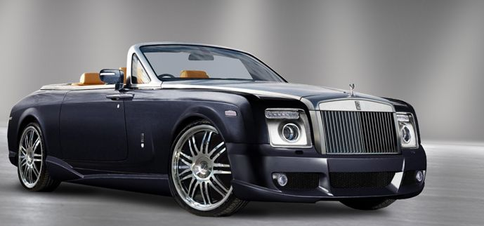 rolls royce drophead convertible rental cars