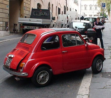 self parking vehicle