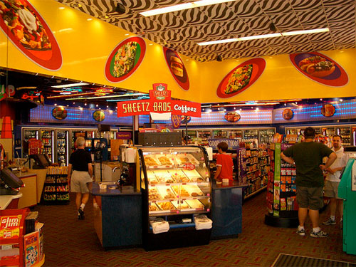 Sheetz Store Interior