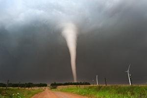 Driving During a Tornado