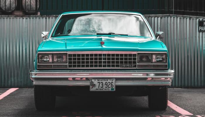 Vintage budget car