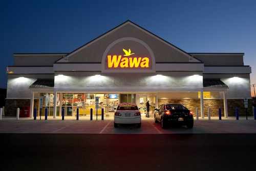 WaWa Convenience Store Exterior