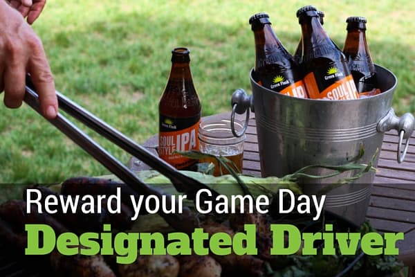 Reward your Designated Driver for The Big Game