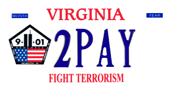 Trump license plate