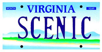 Virginia vanity plates
