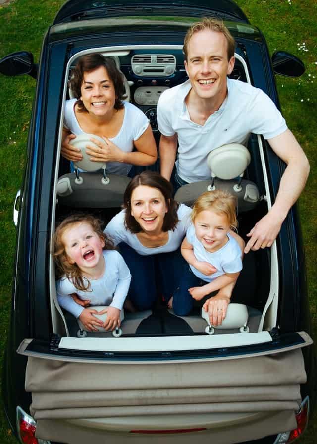 family-in-car