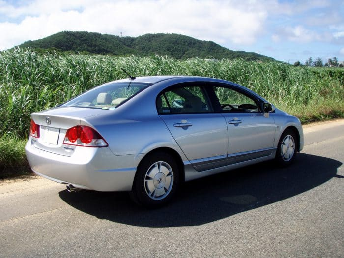 2005 honda civic hybrid maintenance schedule