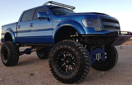lifted texas truck