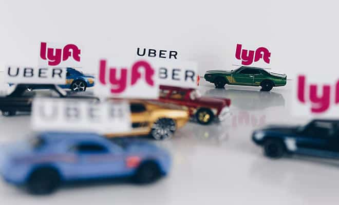 Uber Vs Lyft Vs Taxi Service A Ridesharing Comparison Review