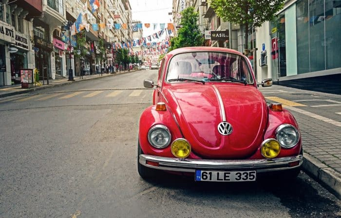 VW Beetle Road