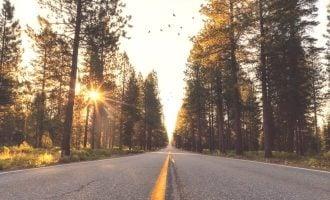 Single car road