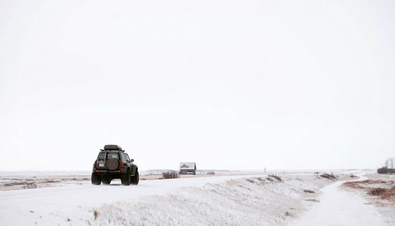 Snow North Dakota