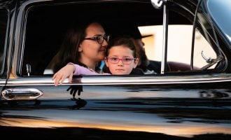 family car drive