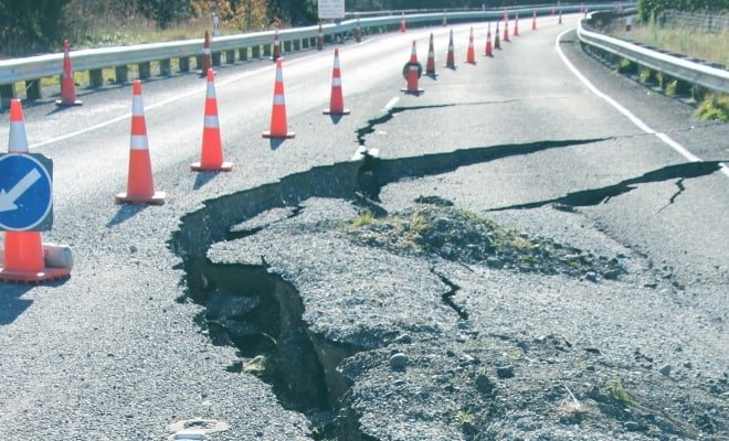 Are you covered if you car gets damaged in an earthquake?