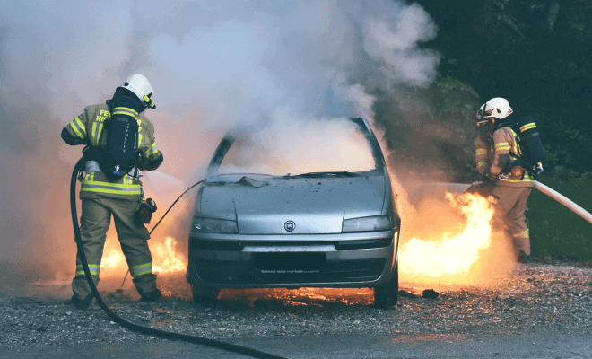 Is your car covered from fire damage?
