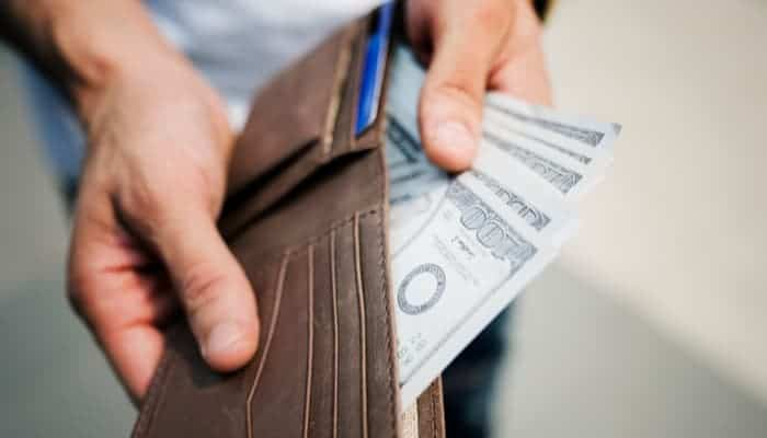 Man saving money on car insurance