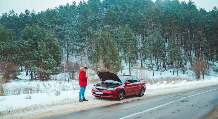Man calls an electric car insurance company