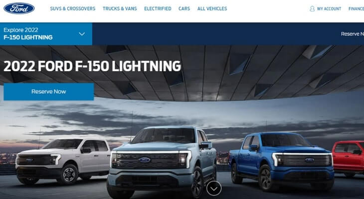 Upcoming electric cars: Ford F-150 Lightning