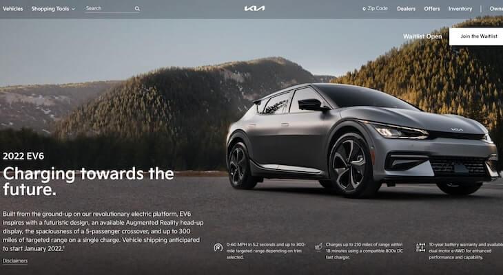 Upcoming electric cars: Kia EV6