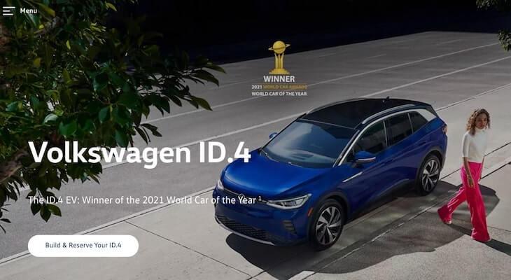 Best Electric SUV: Volkswagen ID.4